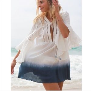 Dresses & Skirts - 🌺Ombré Dip Dye Boho Peasant Dress